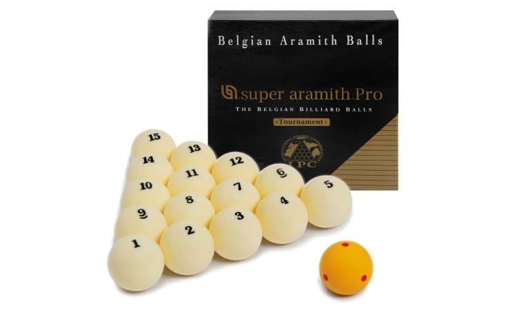 Бильярдные шары «Super Aramith Pro-Cup Tournament», 67мм