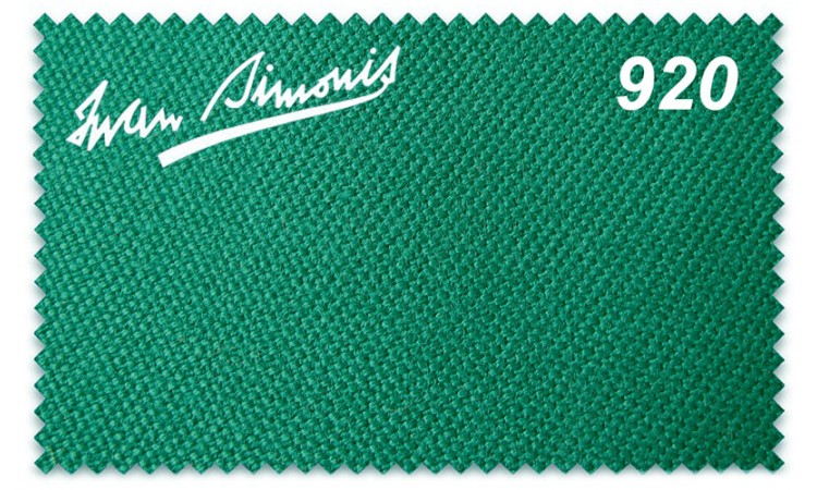 Бильярдное сукно «Iwan Simonis 920» (930 RUS)