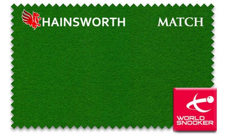 Бильярдное сукно «Hainsworth Match Snooker»