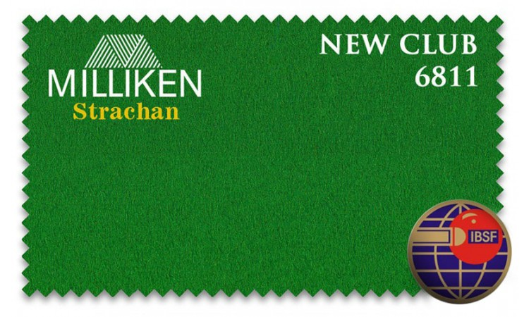 Бильярдное сукно «Milliken Strachan Snooker New Club»