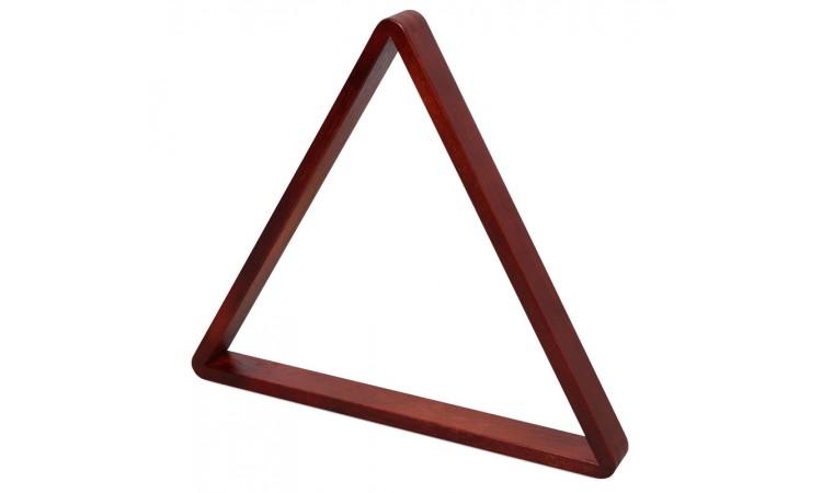 """Треугольник для бильярда из дерева """"Венеция"""" махагон, 68мм"""